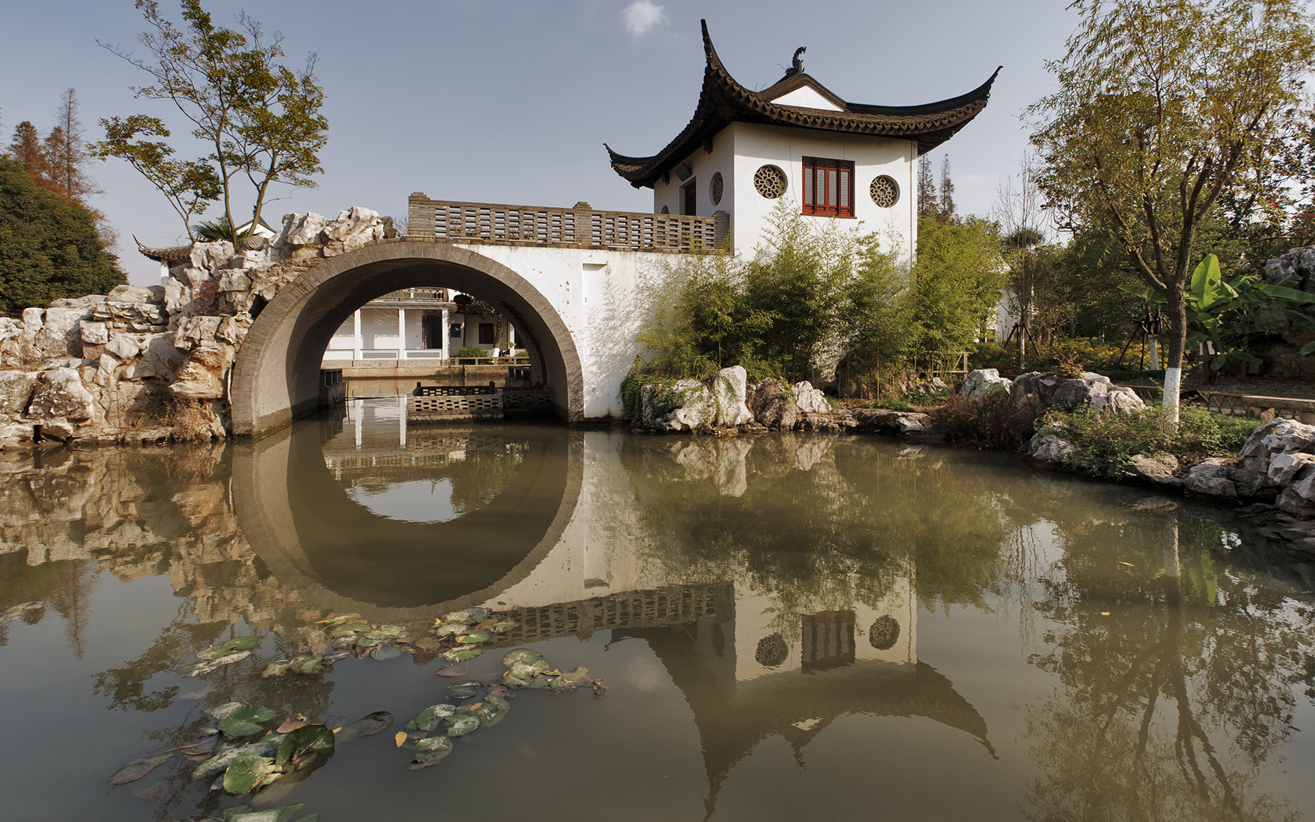 Удивительный город на воде Чжуцзяцзяо