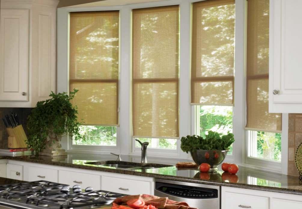 Когда и где выбирать рулонные шторы?