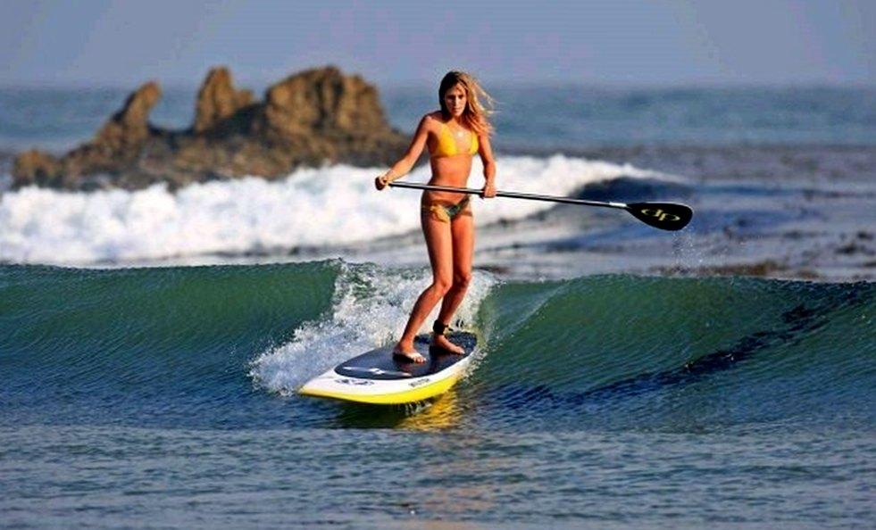 Серфинг с веслом. Что это такое?