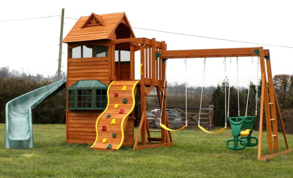 Красивая детская площадка своими руками фото 488