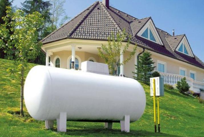 Как заправить газгольдер?