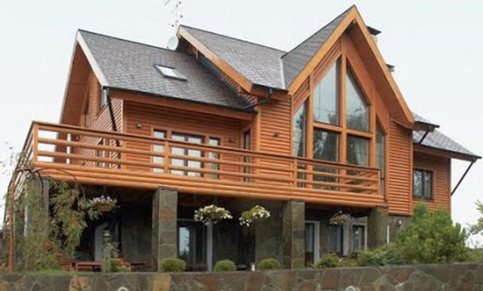 Где найти красивые деревянные дома?