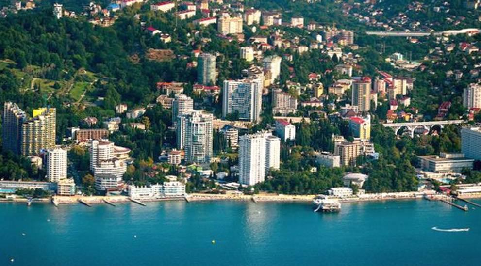 Сочи – крупнейший курортный город на российском побережье Черного моря