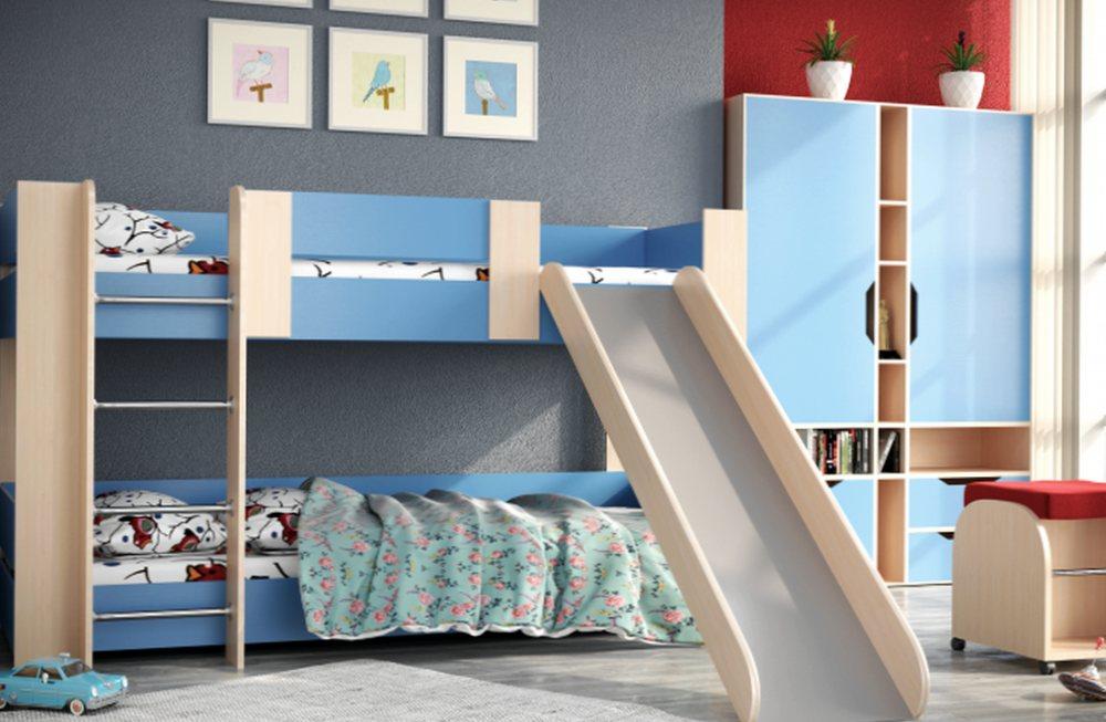 Где стоит выбирать детские двухъярусные кровати?