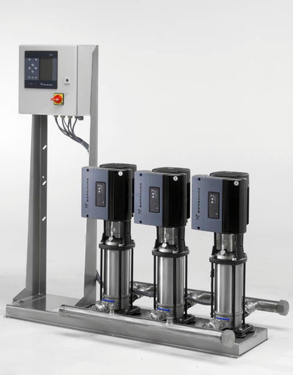 Где используется насосная установка hydro multi e?
