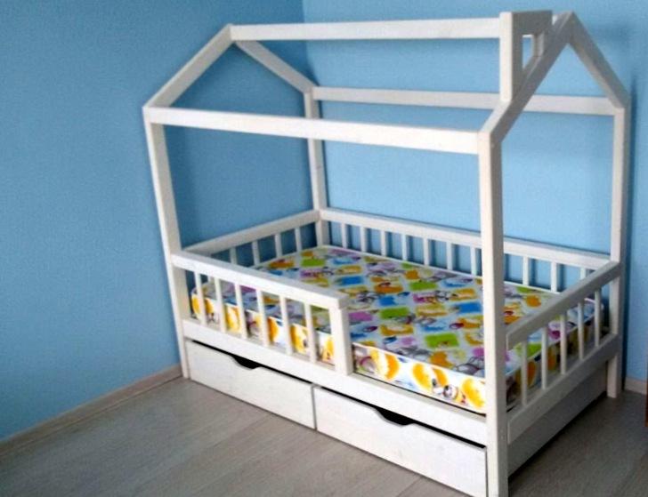 Как выглядит кровать-домик?