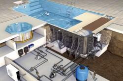Что входит в состав оборудования для бассейнов?